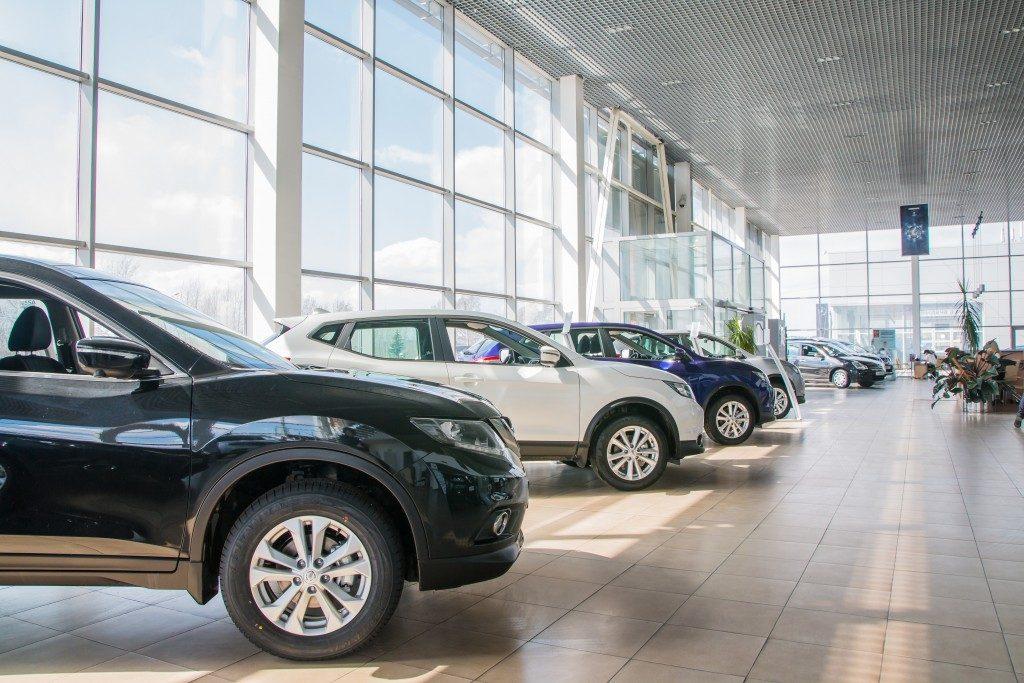 car models in car sale gallery